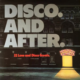 V/A - Disco And After (LP) (VG+/VG)